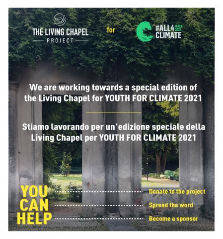 Locandina del progetto The Living Chapel